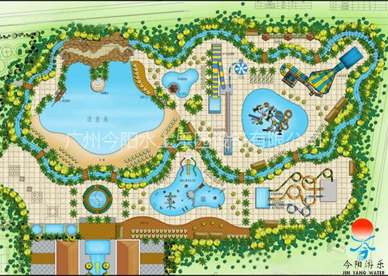 水上乐园设计规划图4