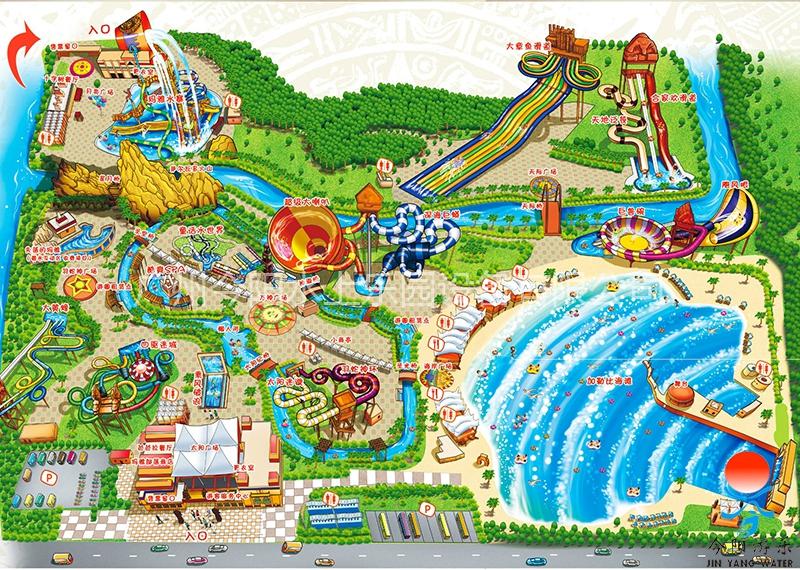 水上乐园设计规划图12