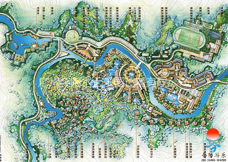 水上乐园设计规划图10
