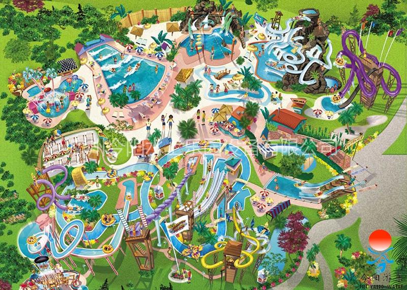 水上乐园设计规划图1