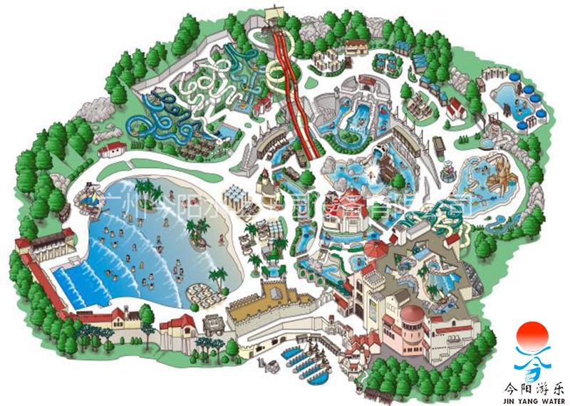水上乐园设计规划图7